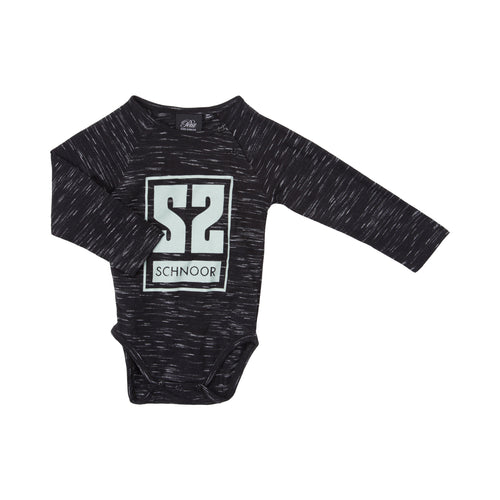Petit by Sofie Schnoor - Body LS, August - Black Mix