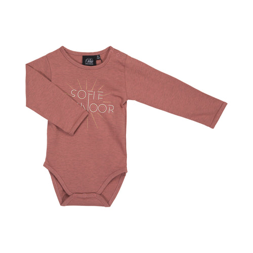 Petit by Sofie Schnoor - Body LS, Dicte - Dusty Rose