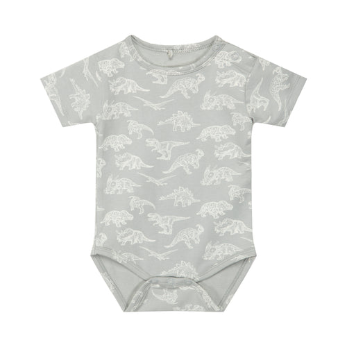 Petit by Sofie Schnoor - Body SS, Aske - Dusty Mint / Dino