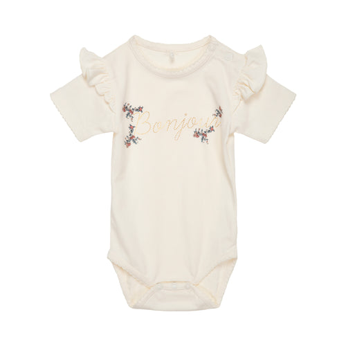 Petit by Sofie Schnoor - Body SS, Dicte - Off White