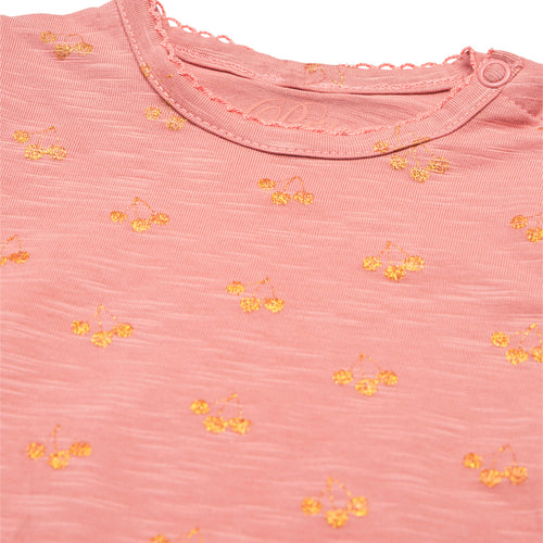 Petit by Sofie Schnoor - Body LS, Dicte - Rose / Champagne