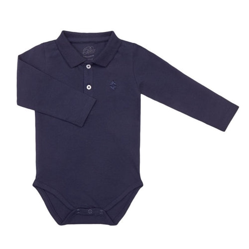 Petit by Sofie Schnoor - Body LS, Clark - Dark Blue