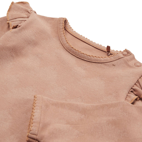 Petit by Sofie Schnoor - Body LS, Dicte - Rosy Brown