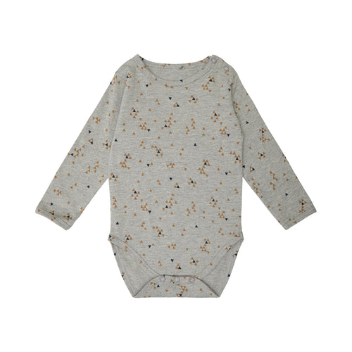 Petit by Sofie Schnoor - Body LS, August - Grey Melange