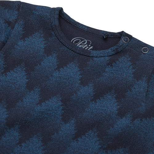 Petit by Sofie Schnoor - Body LS, August - Middle Blue