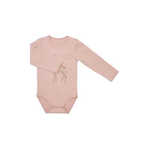 Petit by Sofie Schnoor - Body LS, Dicte - Sweet Rose / Gold