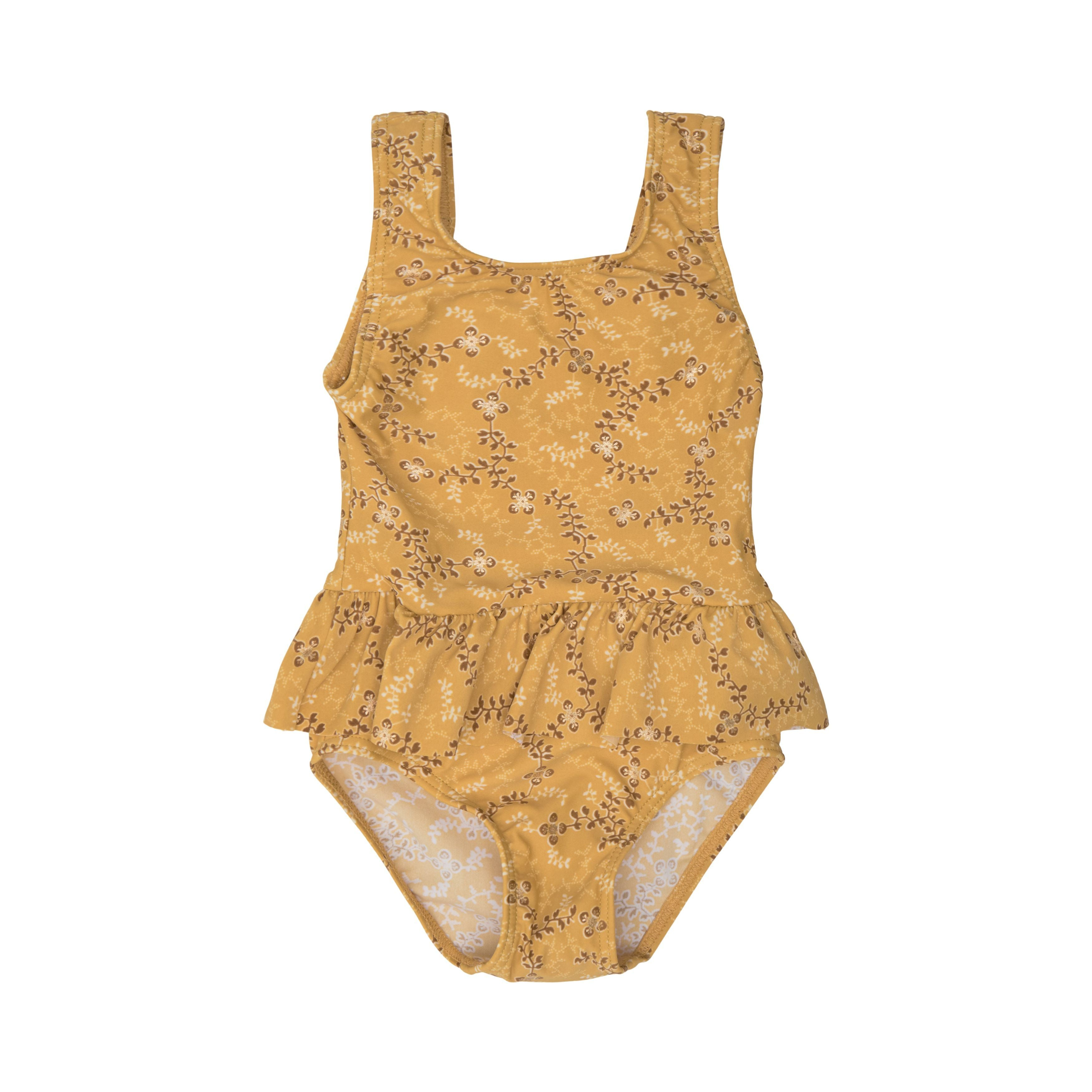 Petit by Sofie Schnoor - Swimsuit UV50, Millie - Yellow / Gold (571909983056)