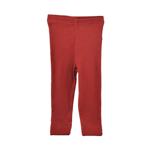 Petit Piao - Modal Leggings - Tomato Red