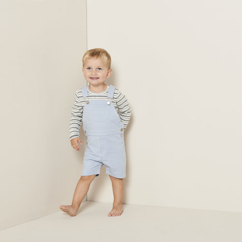 Petit by Sofie Schnoor - Body LS, August - Off White / Light Blue