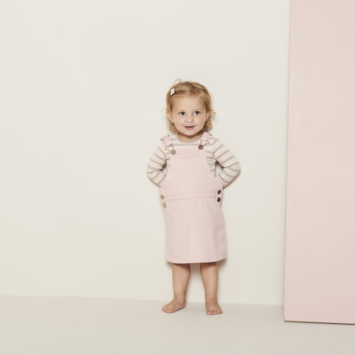 Petit by Sofie Schnoor - Body LS, Dicte - Off White / Rose
