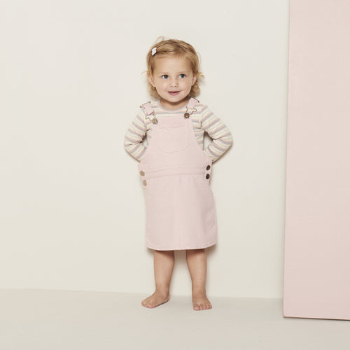Petit by Sofie Schnoor - Smæk-nederdel, Dungarees Darma - Cameo Rose