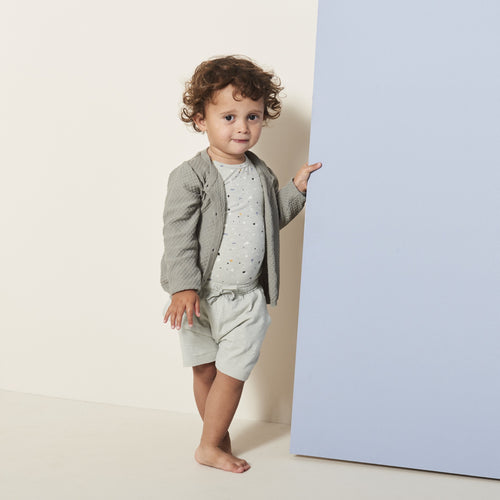 Petit by Sofie Schnoor - Body SS, Aske - Dusty Mint