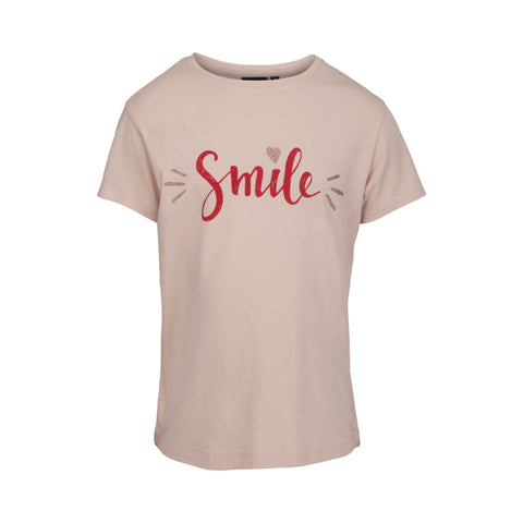 Petit by Sofie Schnoor - T-shirt, Smil - Camero Rose (SS17)