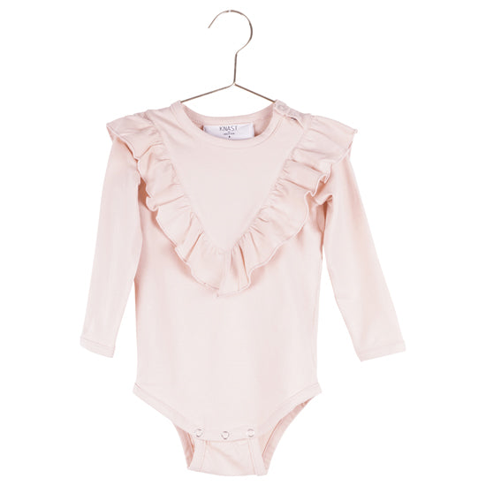 KNAST by KRUTTER - Body w. Ruffle LS - Rose