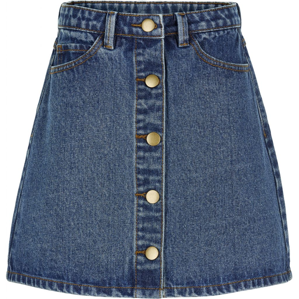 THE NEW - Marizza Denim Skirt (TN2519) - Blue Denim