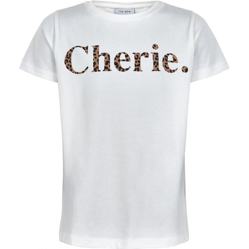 THE NEW - Cherie Tee SS (TN2564) - Cloud Dancer / Leopard