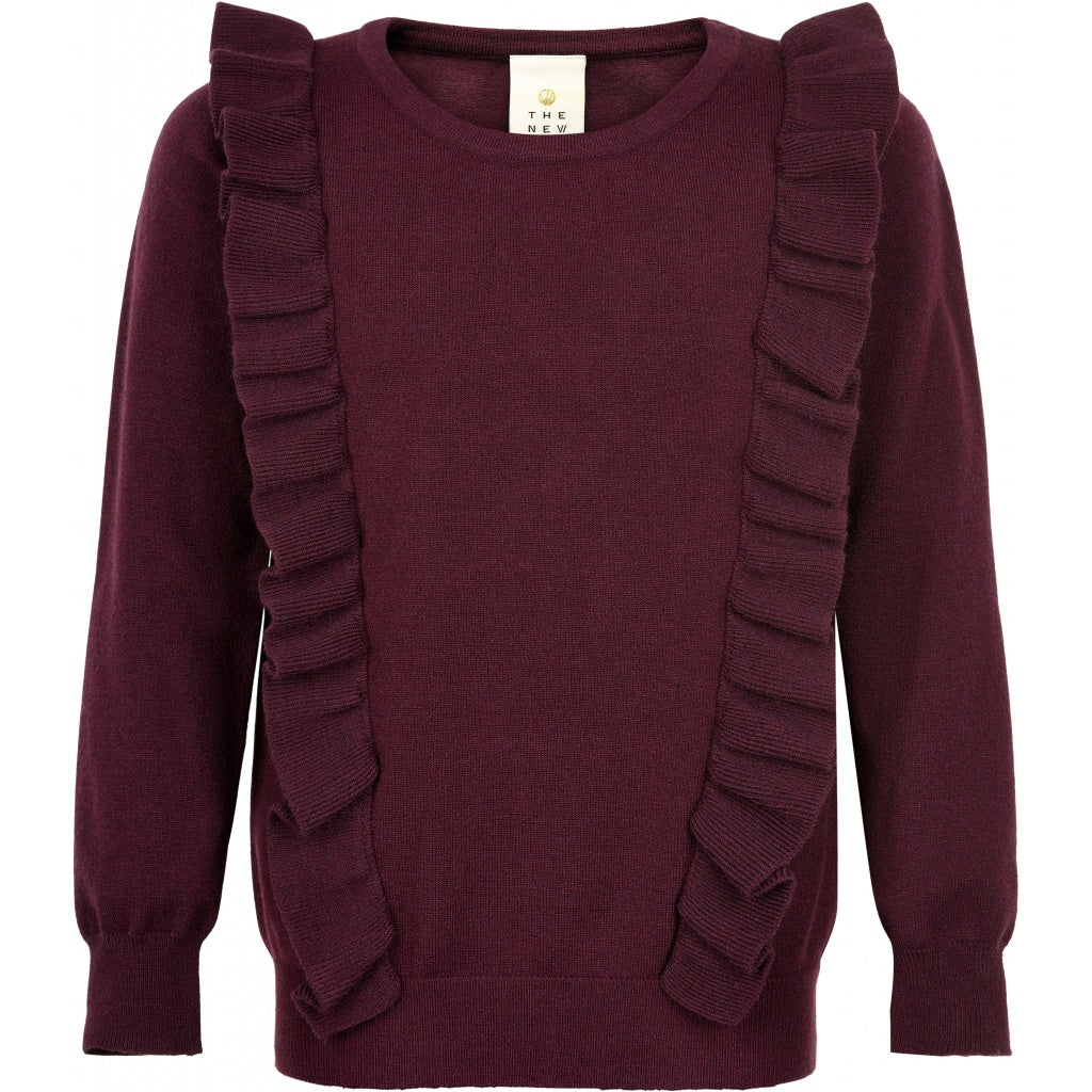 THE NEW - Noelle Frill Sweater (TN2624) - Winetasting