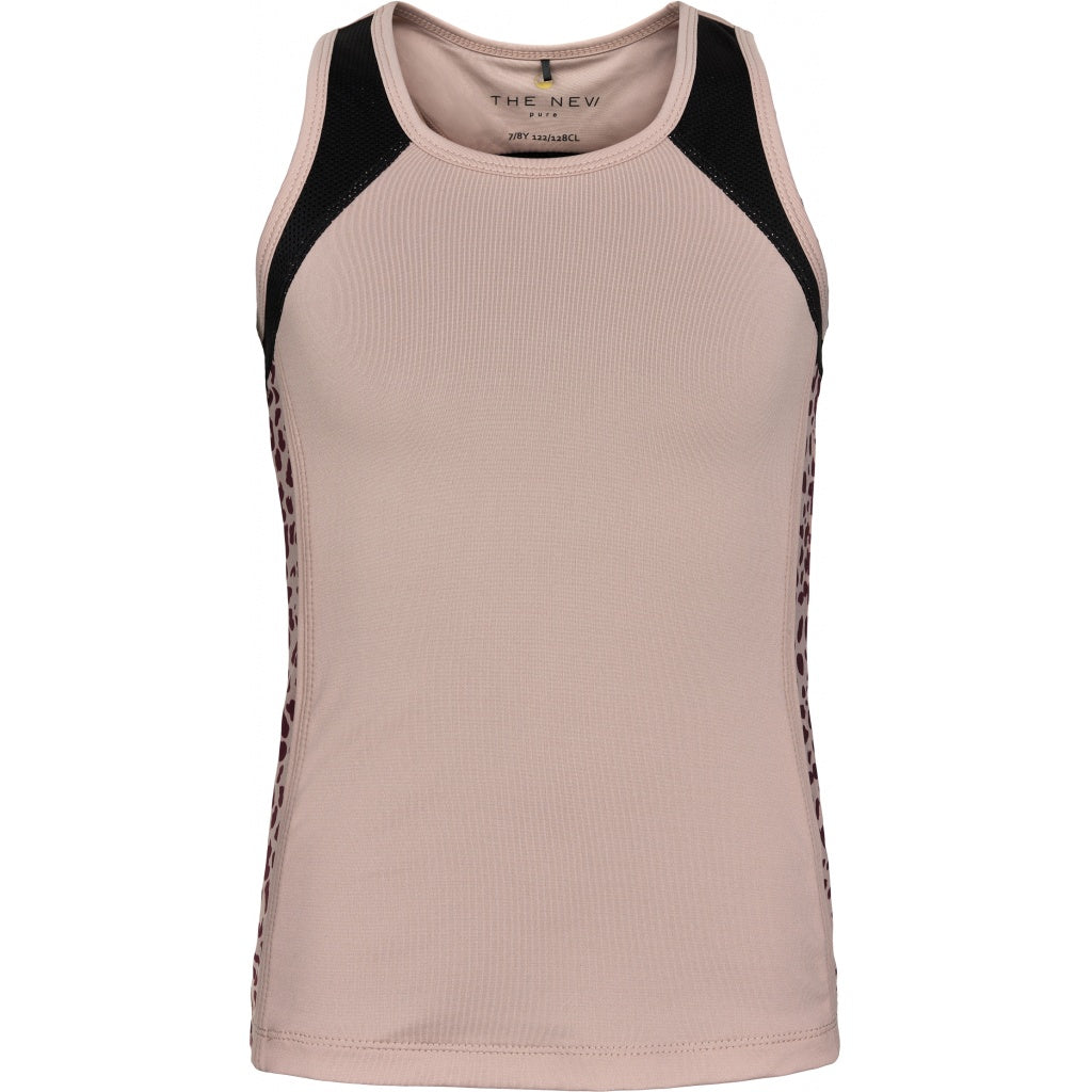 THE NEW Pure - Pure Leo Block Tanktop (TNP1010) - Adobe Rose