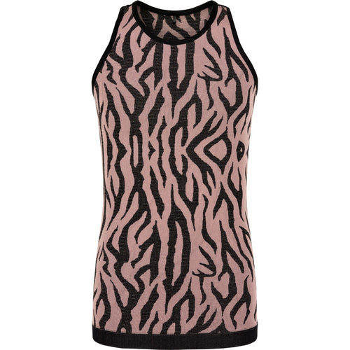 THE NEW Pure - Pure Mezebra Tanktop (TNP1092) - Winetasting / Gold