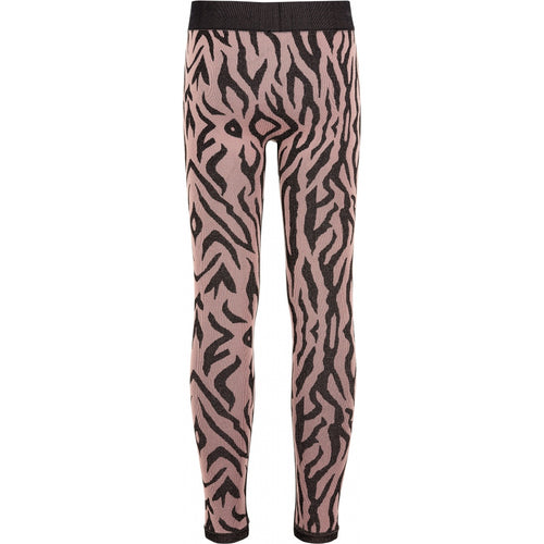 THE NEW Pure - Pure Mezebra Leggings (TNP1093) - Winetasting / Gold