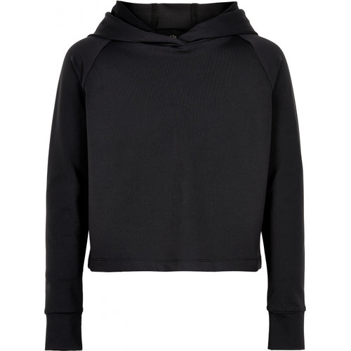 THE NEW Pure - Pure Cropped Hoodie Woman (TNP1134) - Black