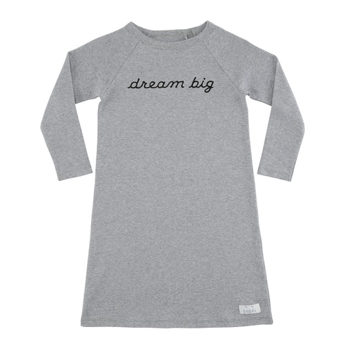 SNORK Copenhagen - Natkjole, Dream Big - Grey Melange