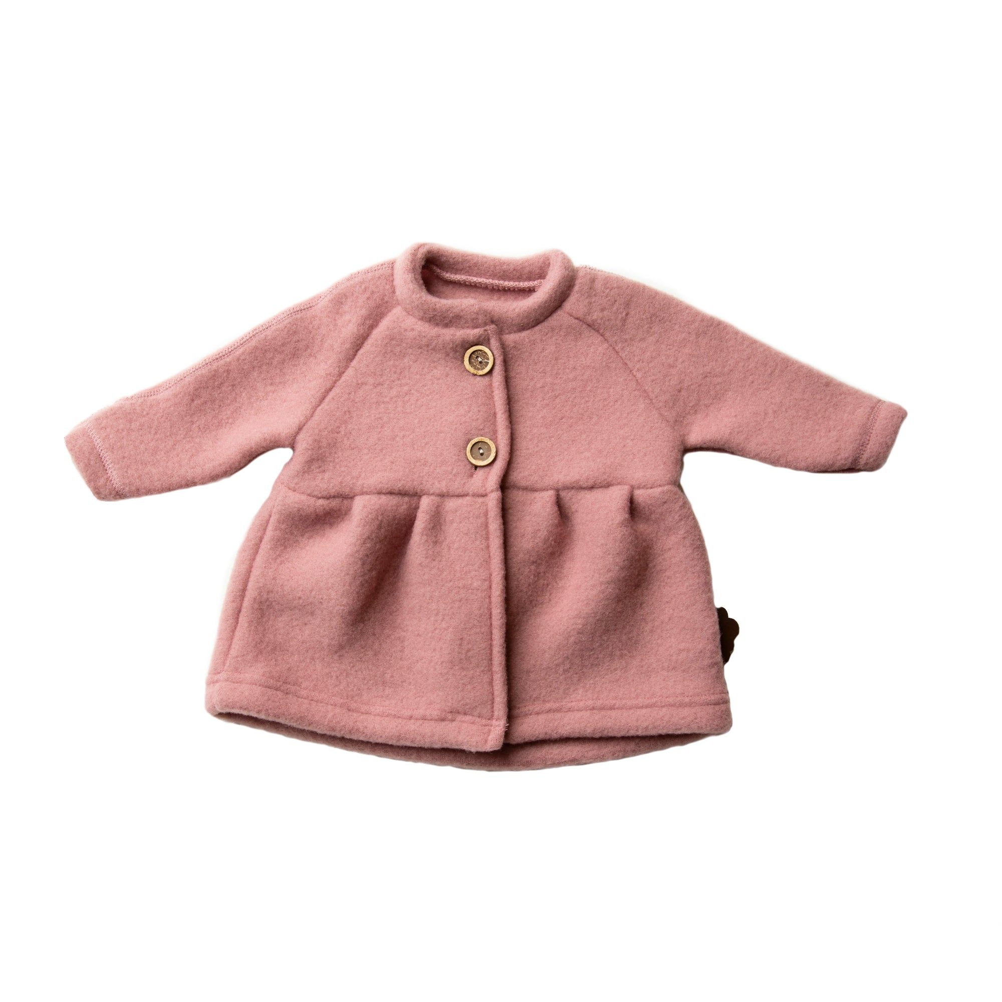 Image of   byLindgren - Uldjakke, Una Baby Jacket - Dark Rose