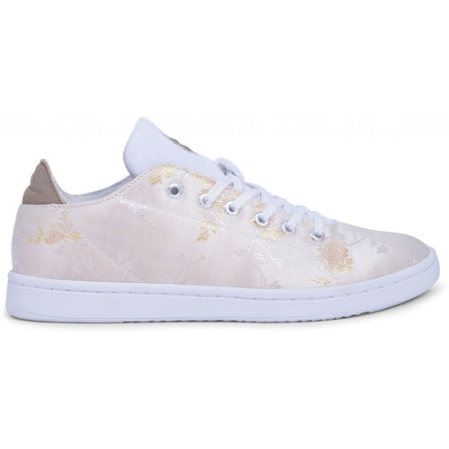 Woden - Sneakers, Jane Jacquard - White