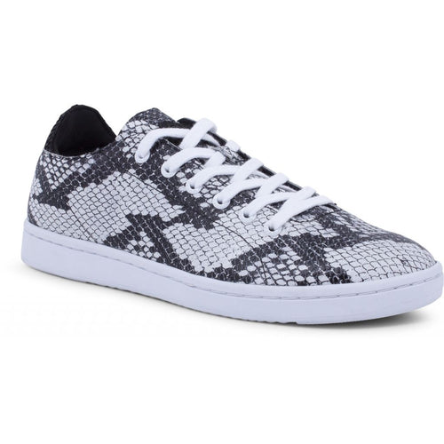Woden - Sneakers, Jane Snake - Black/White
