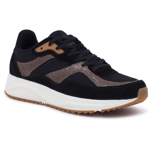 Woden - Sneakers, Sophie Mix NSC - Black / Brown