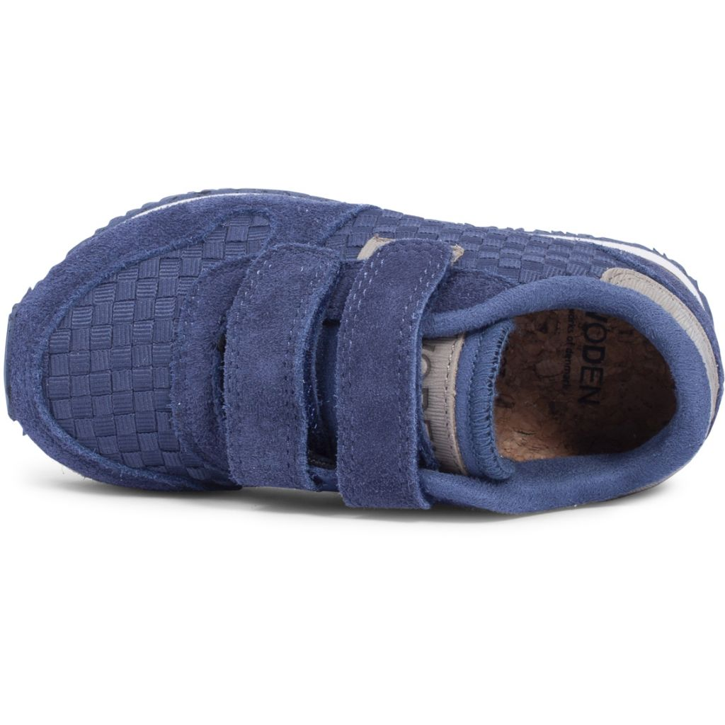 Woden Wonder - Sneakers, Ydun Weaved Kids - Stone Blue