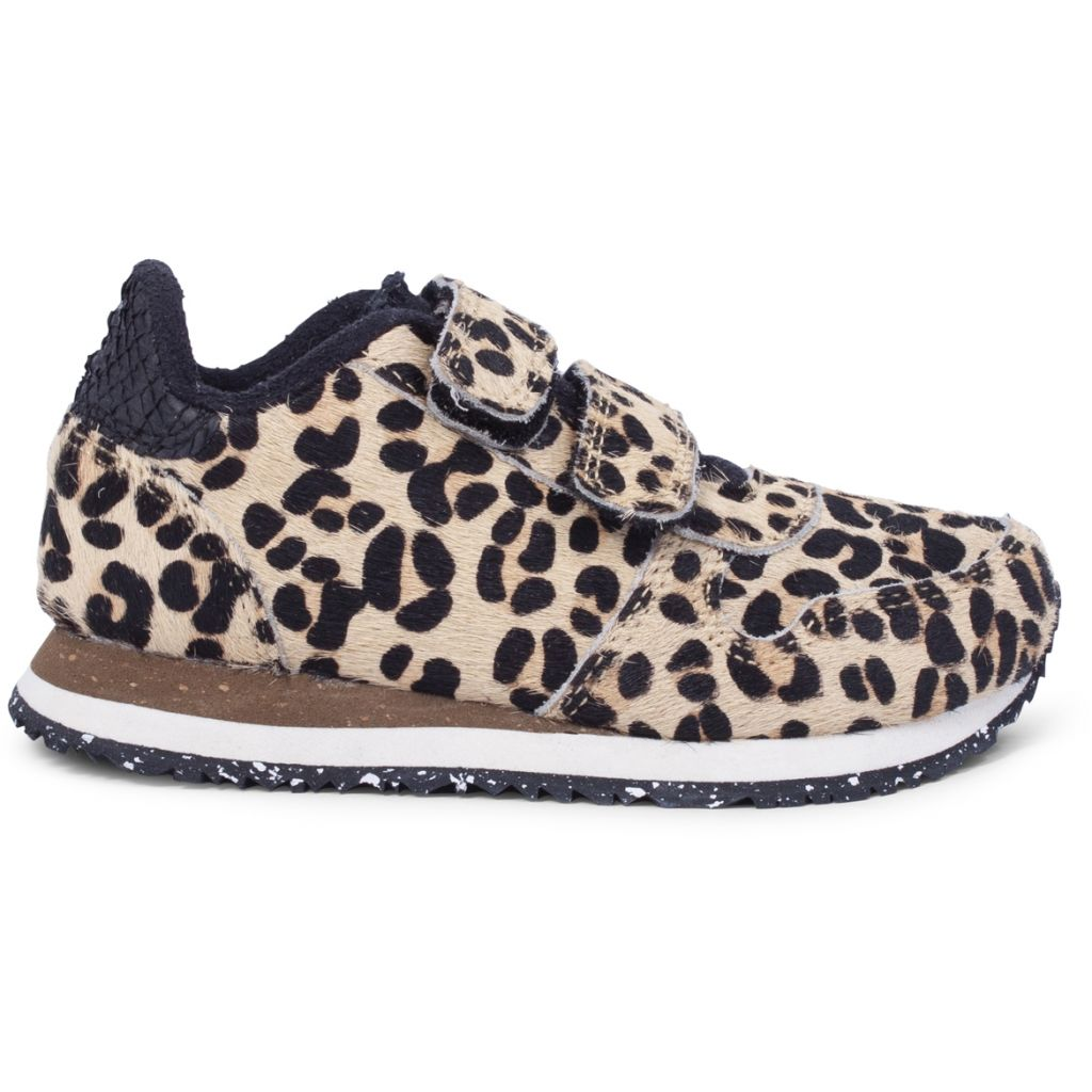 Woden Wonder - Sneakers, Ydun Pony Kids - Leopard