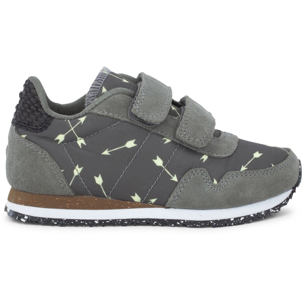 Woden Wonder - Sneakers, Noa Arrow Kids - Castor Grey