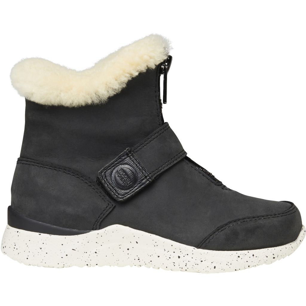Woden Wonder - Odin Zipper Boot Kids - Black