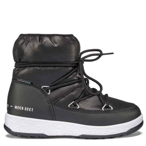Moon Boot - Vinterstøvler, JR Girl Low Nylon WP - Black