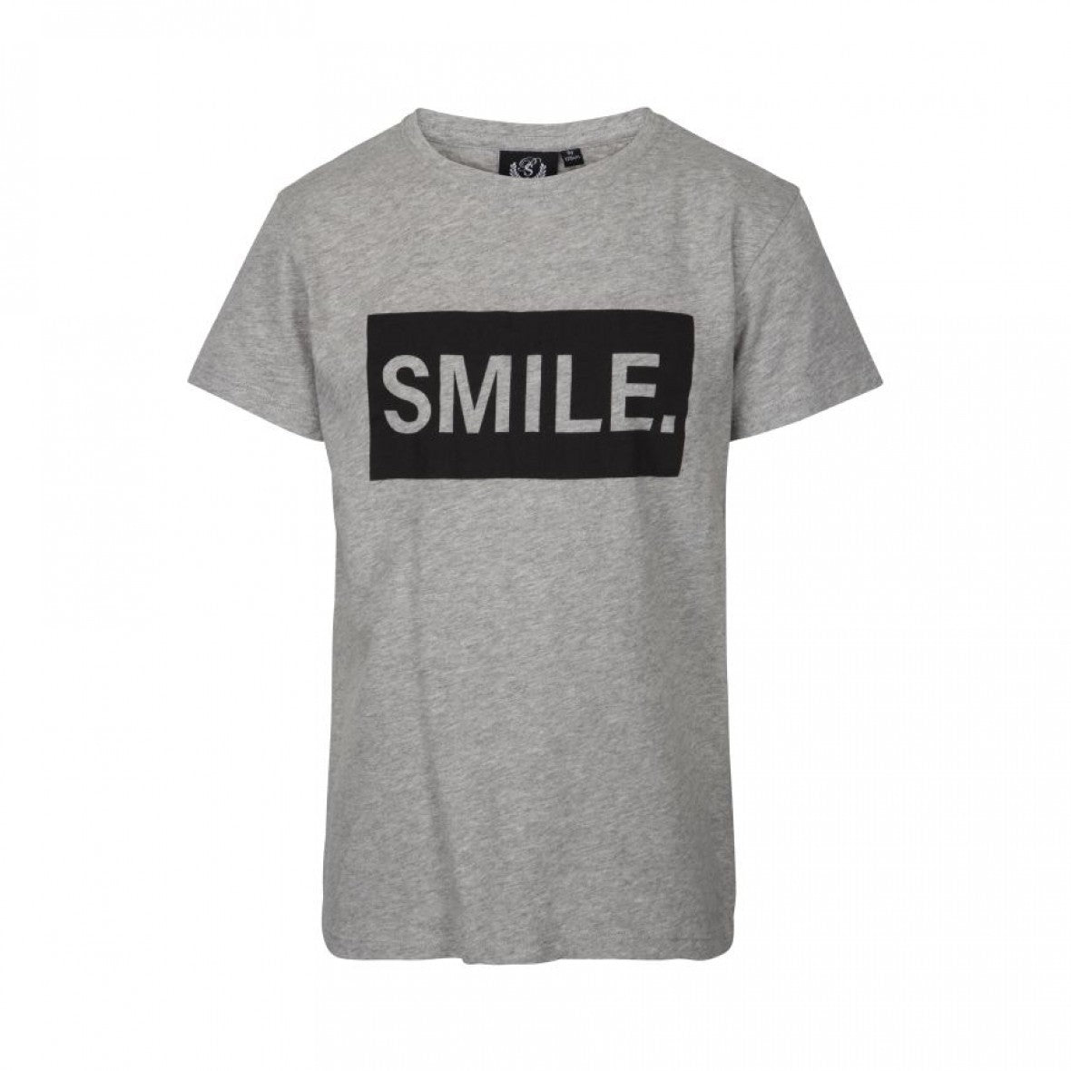 Petit by Sofie Schnoor - T-shirt, Smile - Grey Melange
