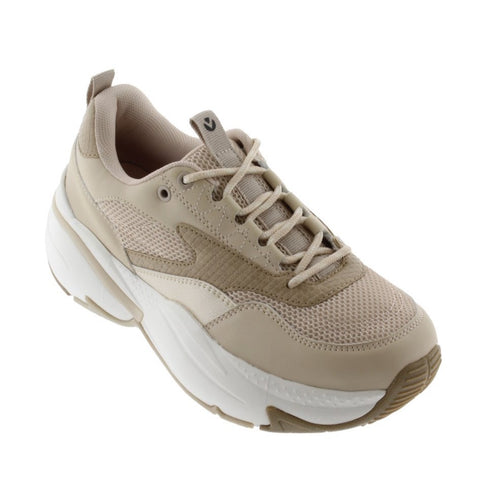 Victoria Shoes - Monochrome Air Sneaker - Beige