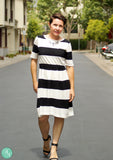 The Monroe Organic Nursing Dress