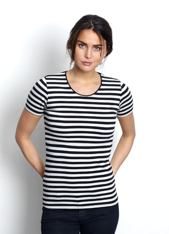 Noor Striped Nursing top