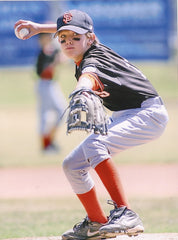 Leo pitching – Age 9
