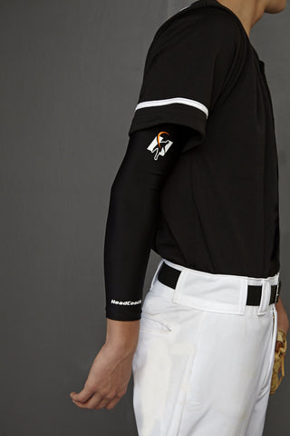 HeadCoach Compression Sleeve with Angle-Indicating Stripe
