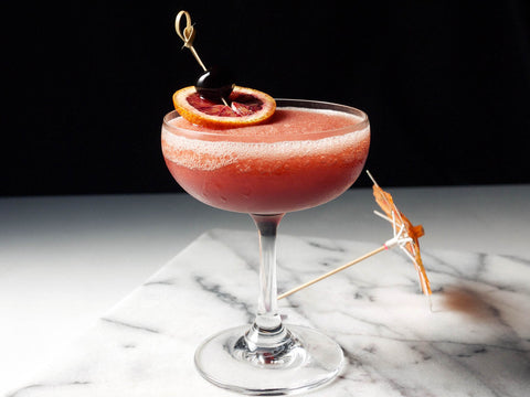 Frozen Blood and Sand Cocktail