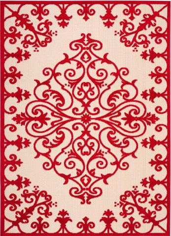 Alure Outdoor Rug Red