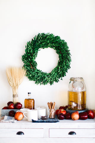 DIY Hot Apple Cider Bar from Camille Styles