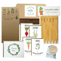 Garden Stationary Gift Set