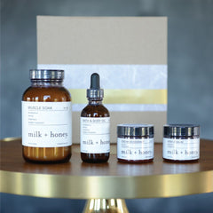 The Power Gift Set by Milk + Honey for sore muscles