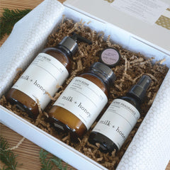 The Unwind Gift Set for busy people by Milk + Honey