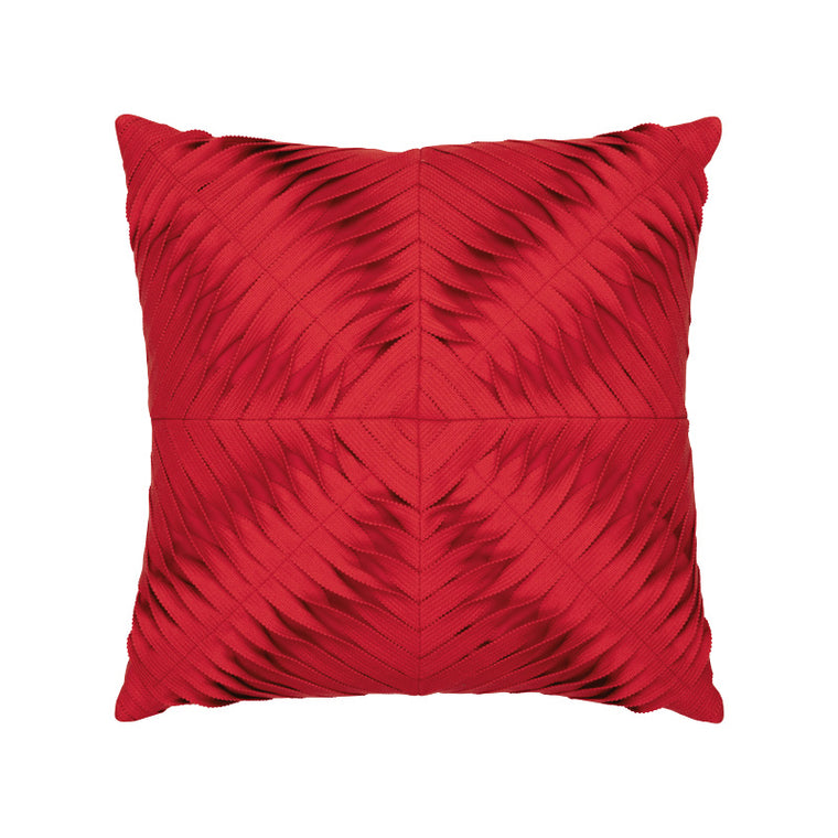 Dimension Scarlet Outdoor Pillow Elaine Smith