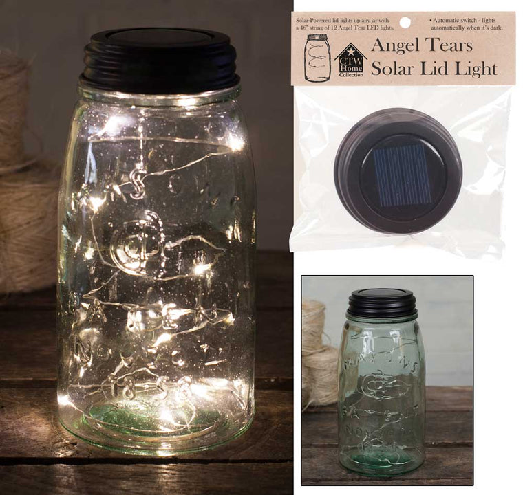 Solar Lid-Light - Angel Tears | Set of 4 Lids
