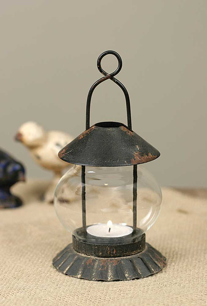 Tart Pan Tea Light Lantern